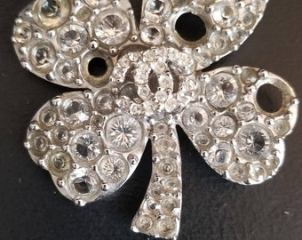 Chanel Four Leaf Clover Brooch