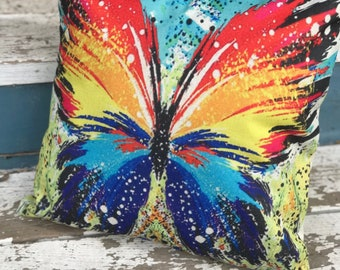 Discounted Butterfly Pillow Cover