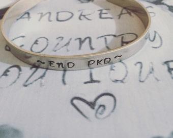 END PKD Cuff Bracelet