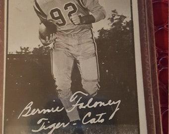 1961 Topps CFL  #47 Bernie Faloney EX-NM Hamilton Tiger Cats U Maryland.comb.shipping