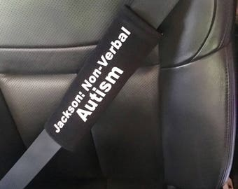 Medical Alert EMS EMT Seat Belt Cover