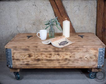 Coffee table storage Etsy