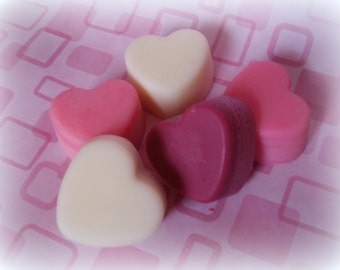 Heart Tart Melts with multiple colors