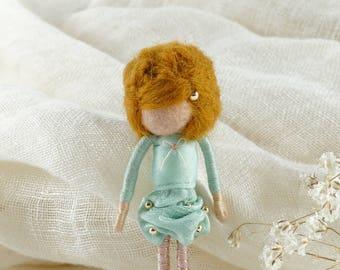 Dorimu Fairy Brooch (blonde/turquoise)