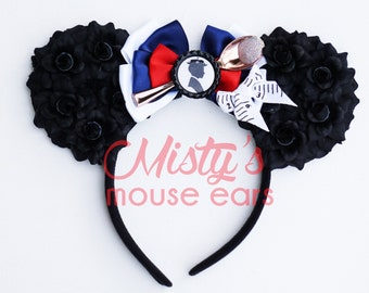 Inspired Mary Poppins Rose Mouse Ears A spoon full of Sugar