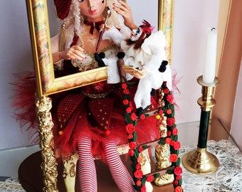A beautiful unique doll
