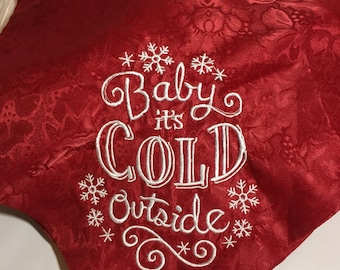 Baby It's Cold Outside Table Runner