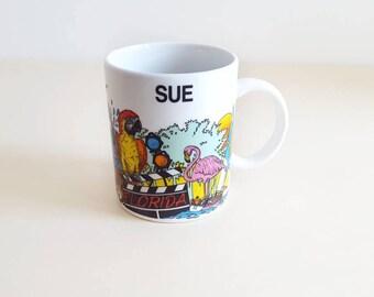 Florida Mug // Vintage Coffee Mug // Mug for Sue