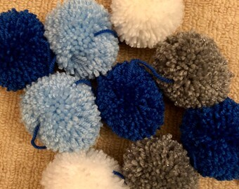 Beside the Seaside pom pom garland