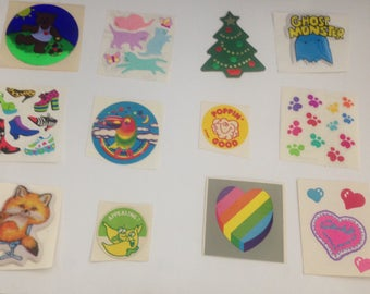 Big Lot Of Vintage 1980s 80s Stickers #6