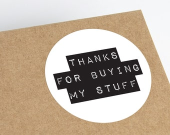 Thank You Stickers | Product Packaging Thank You Labels | Printable Stickers | Small Business Supplies | Packaging Stickers | Etsy Stickers