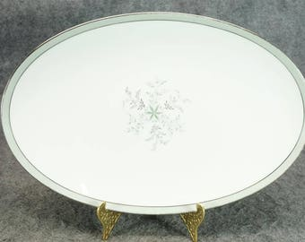 """Noritake China Lucille Pattern 14"""" Oval Serving Platter C. 1960'S"""