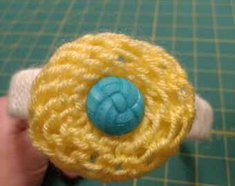 Flower Pouf Headband