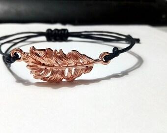 Gold leaf - Creation of chip bracelet