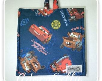 Cars Insulated Bag Cover (Feeding Pump Bag Infinity Joey) Lightning McQueen, Tow Mater