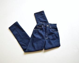 "Lee high waist tapered jeans | 26""x 30"" |Lee stretch denim | zipper fly |"