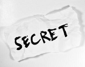 Secret suprise squishie!