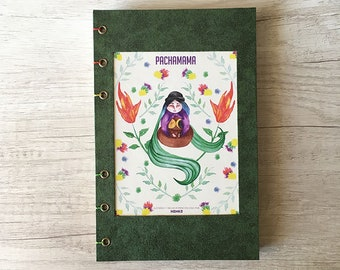 Book Binding Coptic Pachamama