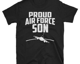 Proud Air Force Son, Military Son T Shirt, air force t-shirt, son military shirt, military t shirt, gifts for him, air force son tshirt