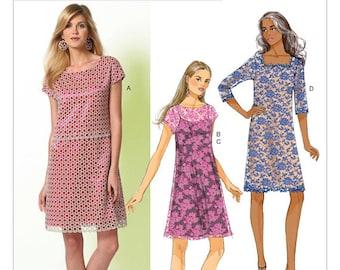 Butterick B5812 Dress Pattern. UnCut size 6-14