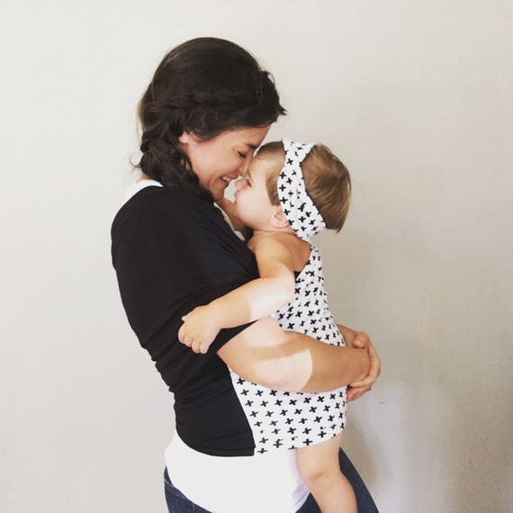 Stretchy Baby Wrap Carrier Papoose Baby Carrier Wrap Infant