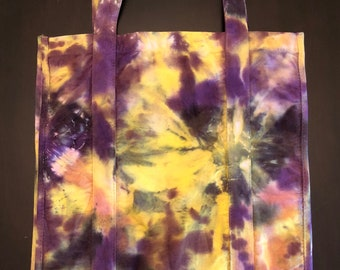 Canvas Market Bag, Gorilla Tote, Tie-Dye