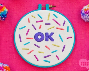 "OK - Embroidery Art - 6"""