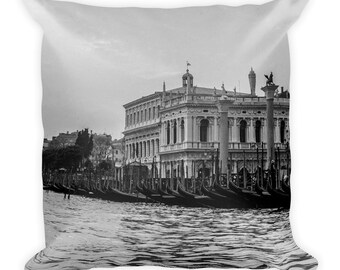Venice Throw Cushion / Pillow, 1:100 Limited Edition