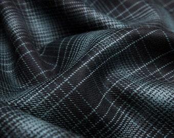Striped Wool Fabric Etsy