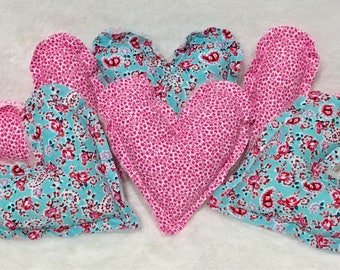 Mother's Day Gift Chic Heart Bowl Fillers Red Green Floral Valentines Decor Gift