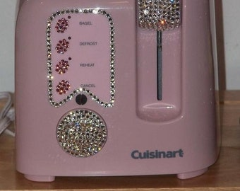 kitchen bedazzle toaster oven (cuisinart ) PINK