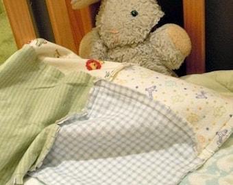 Soft Touchable Rag Blanket Quilt, lightweight