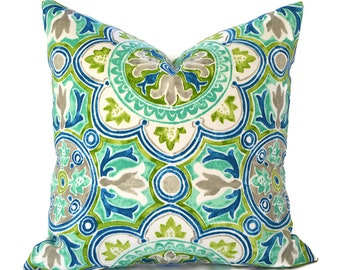 Outdoor Pillows Pillow Covers Decorative Pillows ANY SIZE Pillow Cover Outdoor Bryant Lagoa Tile Pool