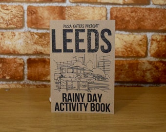 Leeds Rainy Day Colouring & Activity Book