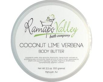 Coconut Lime Verbena Body Butter