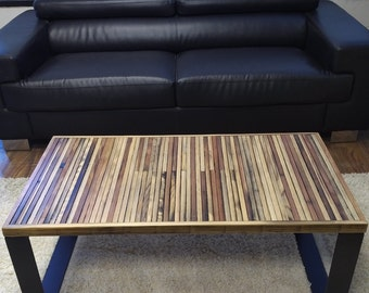 Reclaimed wood coffee table, Upcycled Wood Coffee Table, Handmade Coffee Table