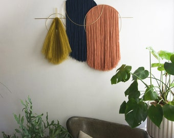 Waveforms OVERSIZED WALL HANGING