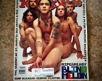 Blind Melon Shannon Hoon Vintage Rolling Stone Magazine November 1993 Issue 669 Excellent Shape
