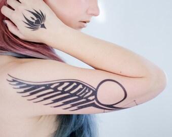 Starbuck + Anders BSG Tattoo Set