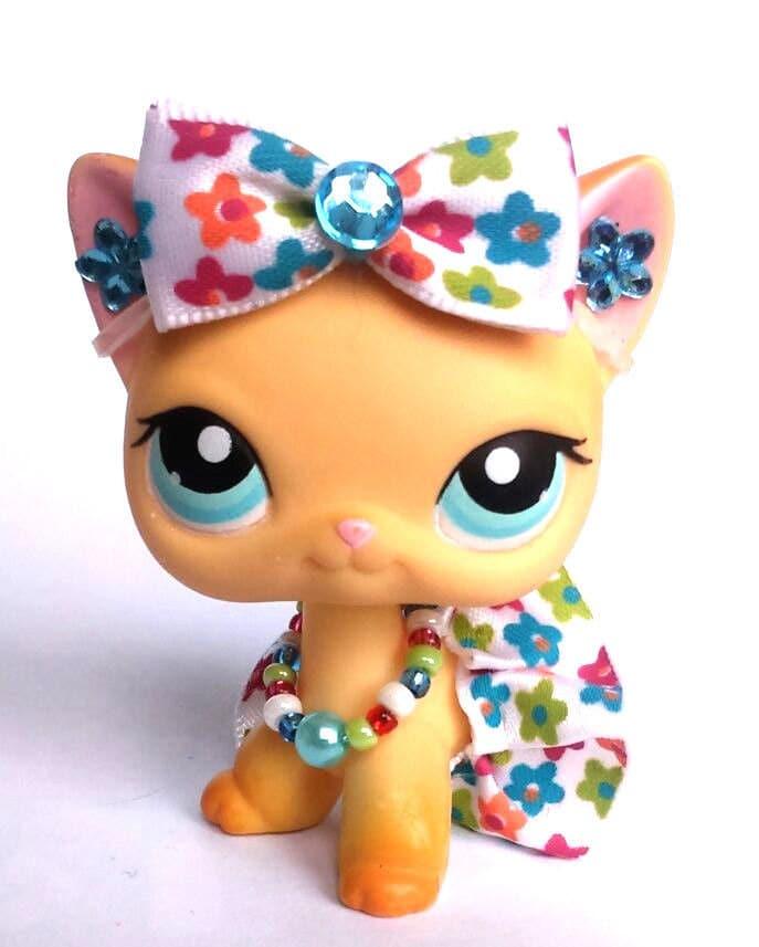 Littlest Pet Shop LPS Custom Clothes Outfit Accessories Lot