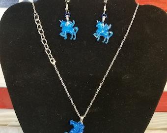 Unicorn/Pegasus Jewelry Set