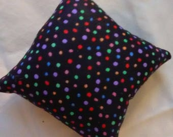 Polka Dot Catnip Pillow Toy