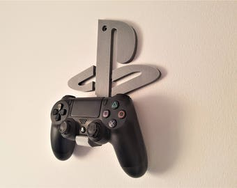 Playstation 4 Dualshock 4 Controller Wall Mount / Holder - PSN Logo