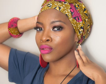 African head wrap, African clothing, African fabric, African headwrap, Ankara head wrap, Ankara fabric, African scarf, African print scarf