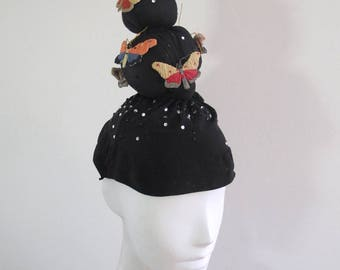 Sculptural Butterfly Hat