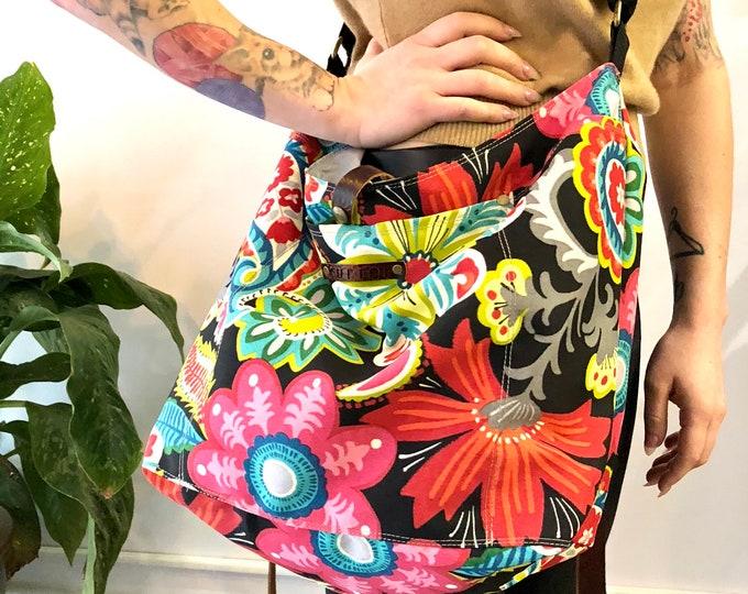 """Yoga bag with removable """"sWEaT"""" bag"""