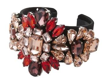 Medina Bracelet Garnet Red