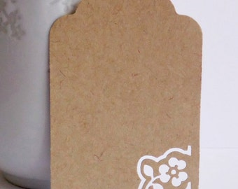 Kraft tags, set of 12 tags, Hang Tags, Plain Tags, Wedding favors, Favor tags, Diy Wedding, Party Supplies