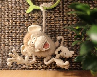 Amigurumi crohet monkey