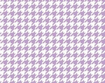 Riley Blake Designs, Houndstooth 100% cotton, C970-120 Lavendar - Medium Houndstooth